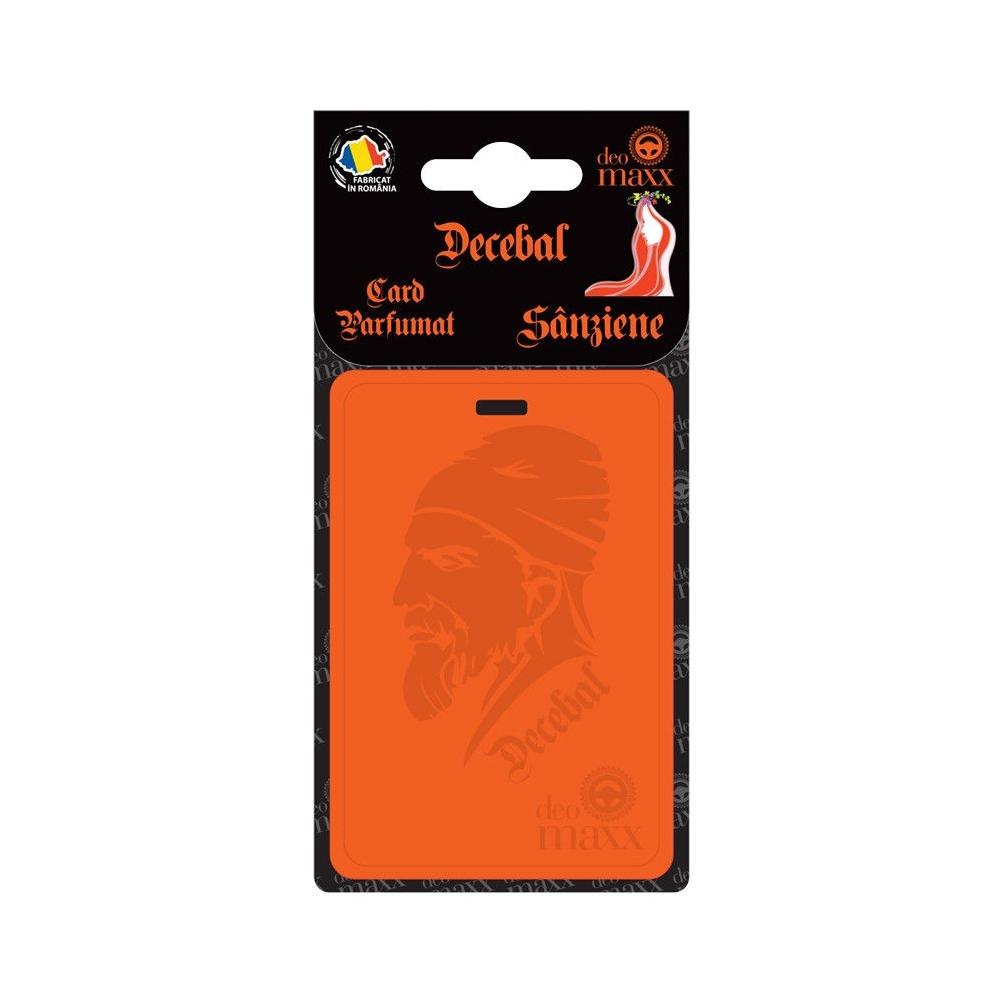 CARD PARFUMAT DECEBAL - SANZIENELE