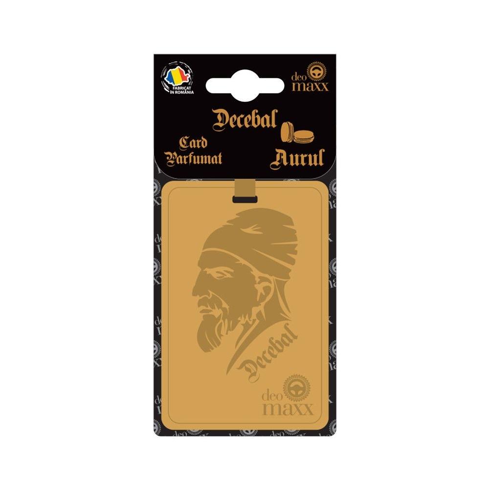 CARD PARFUMAT DECEBAL-AURUL