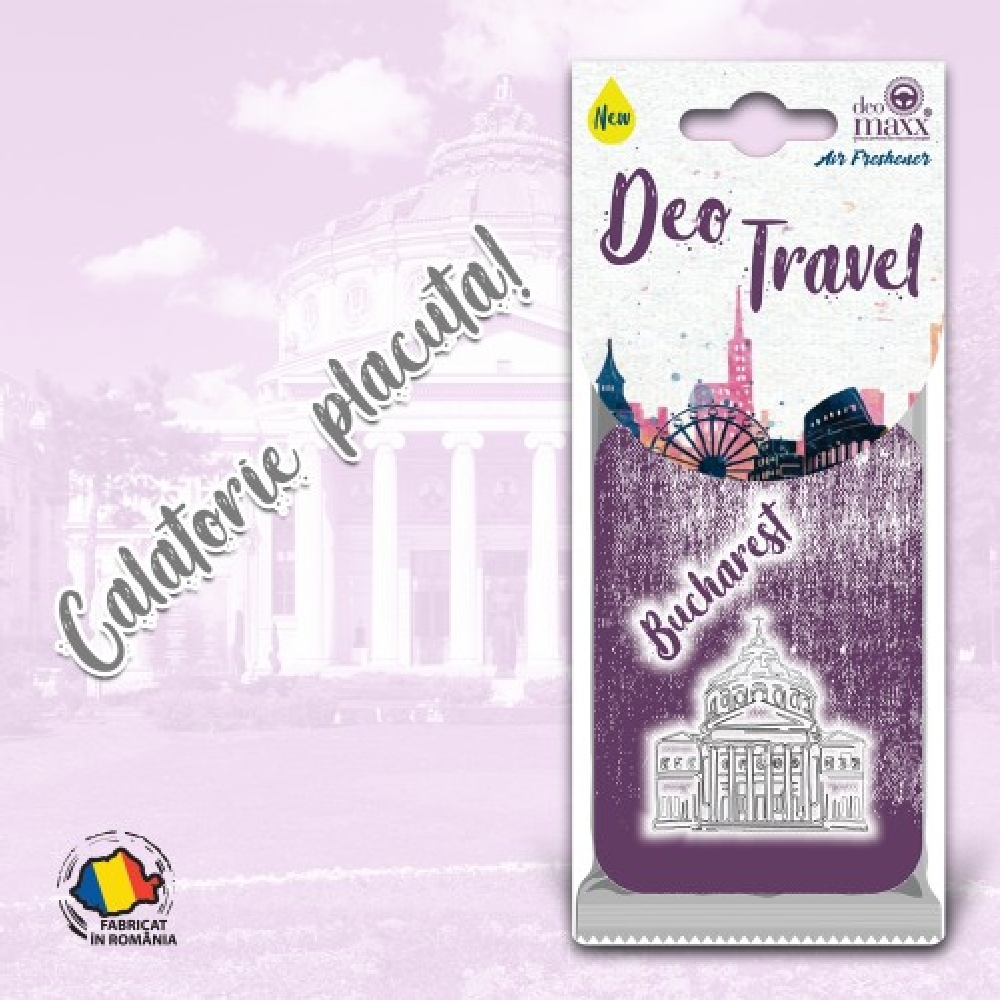 DEO TRAVEL- ODORIZANT BUCHAREST