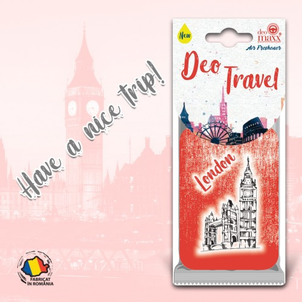 DEO TRAVEL- ODORIZANT LONDON