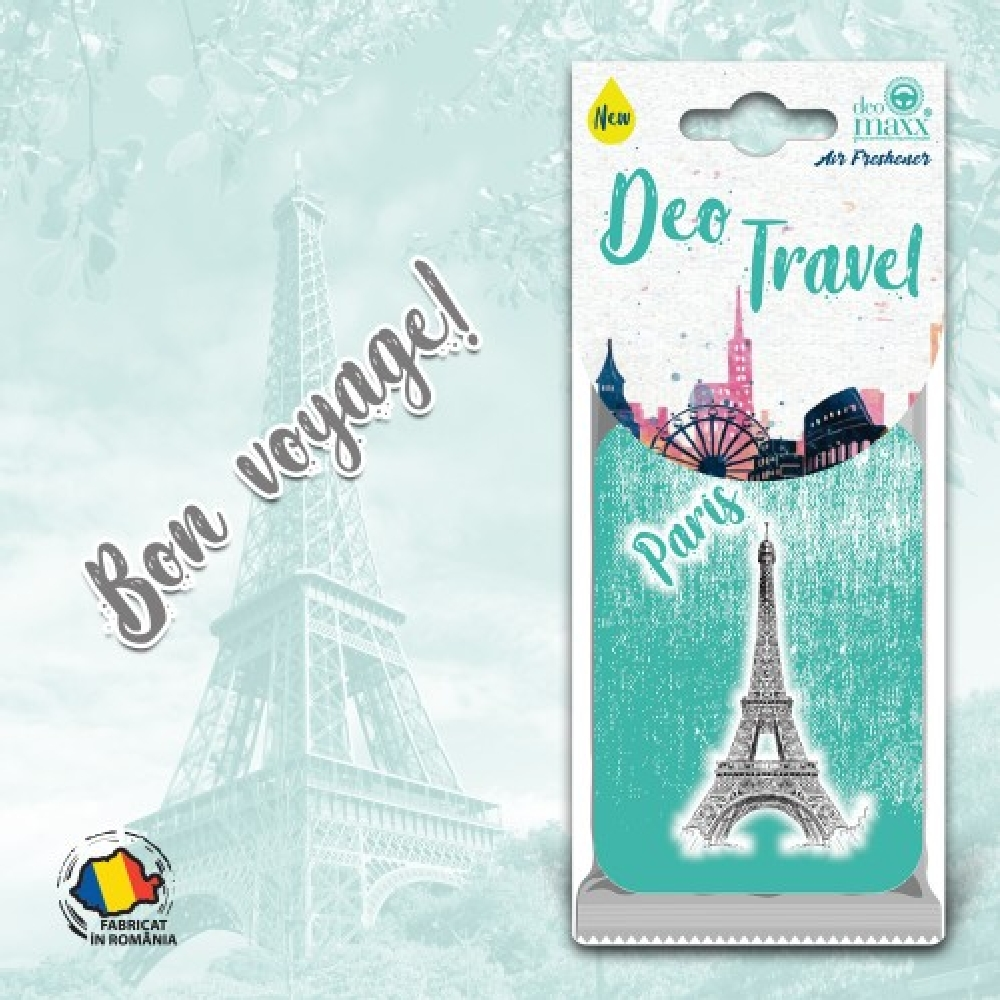 DEO TRAVEL- ODORIZANT PARIS