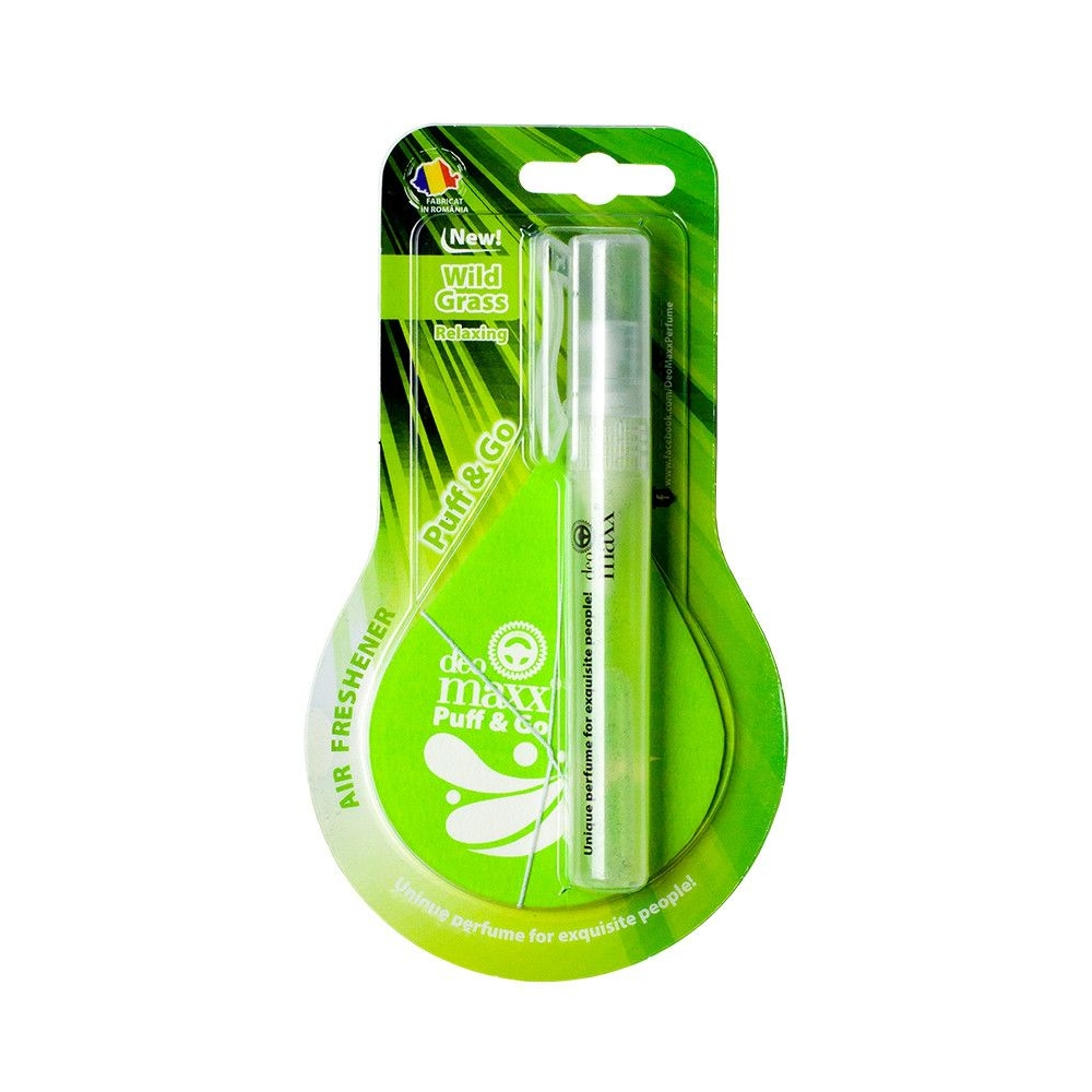 PUFF&GO - WILD GRASS SPRAY + CARTON ABSO