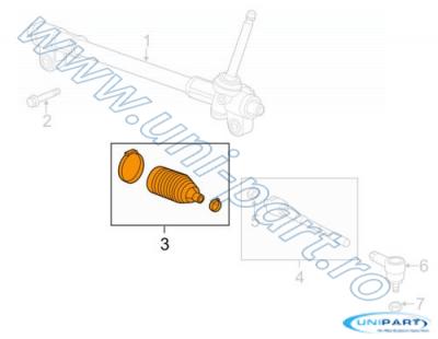 BURDUF CASETA DIRECTIE M300 - SPARK